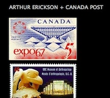 Arthur Erickson stamps