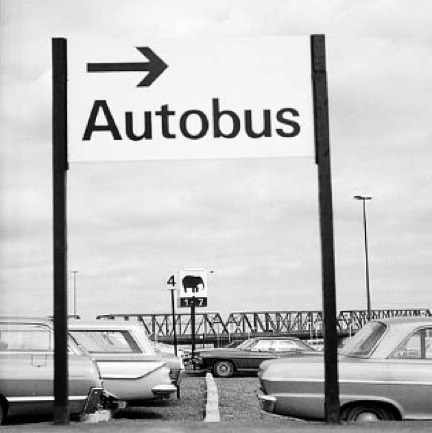 EXPO 67 autobus sign
