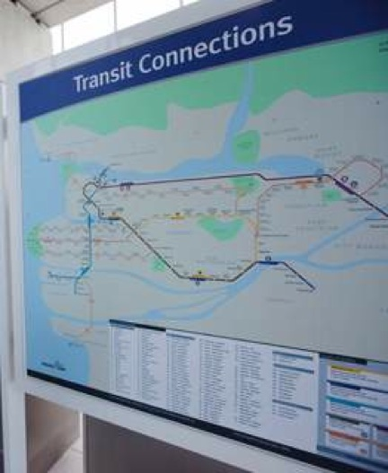 New transit map