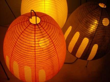 Noguchi Lamps 1