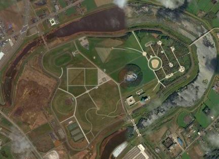 Noguchi's Moerenuma Park, Sapporo, Japan Google Earth