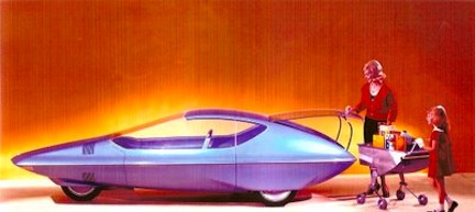 1964 gm concept car color paleofuture