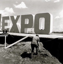 expo 67 construction