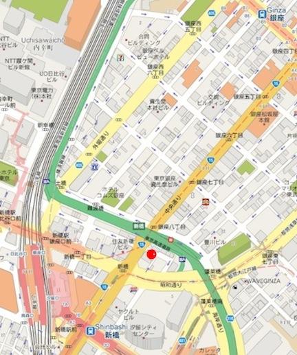 GINZA MAP