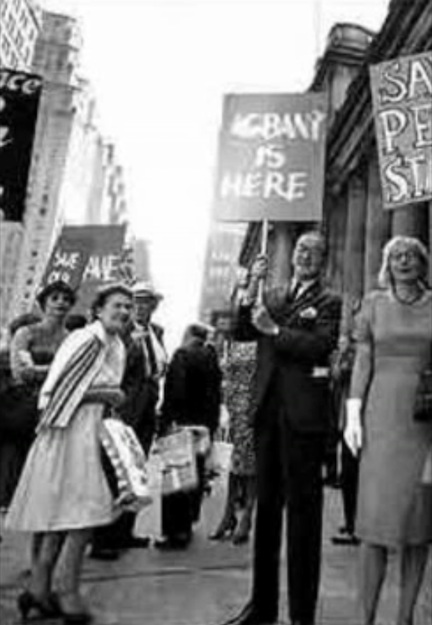JANE JACOBS PROTESTING