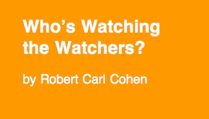 who's watching the watchers