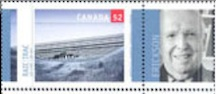 ARTHUR ERICKSON U OF LETHBRIDGE STAMP
