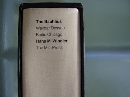 BAUHAUS BOOK 1989 3