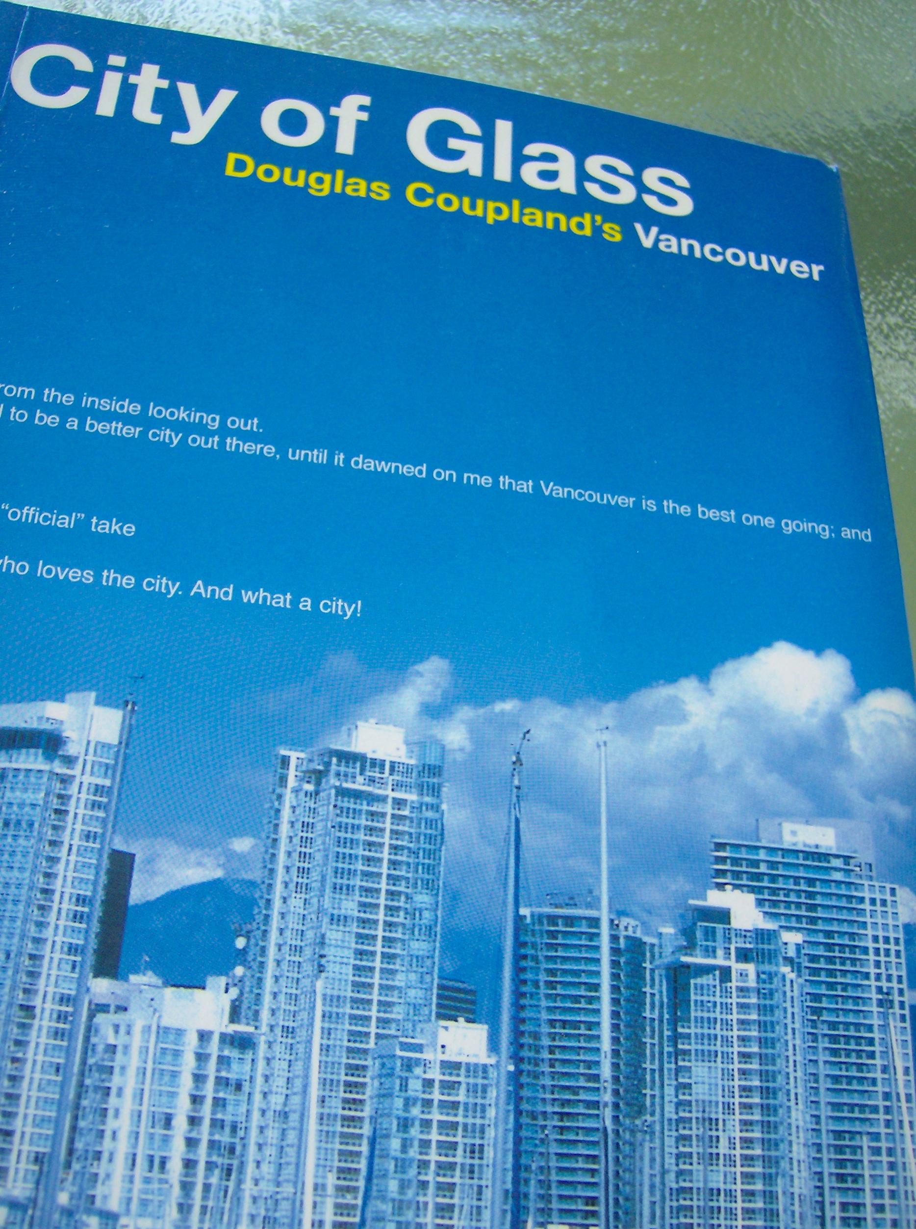 douglas coupland city of glass original pb cover