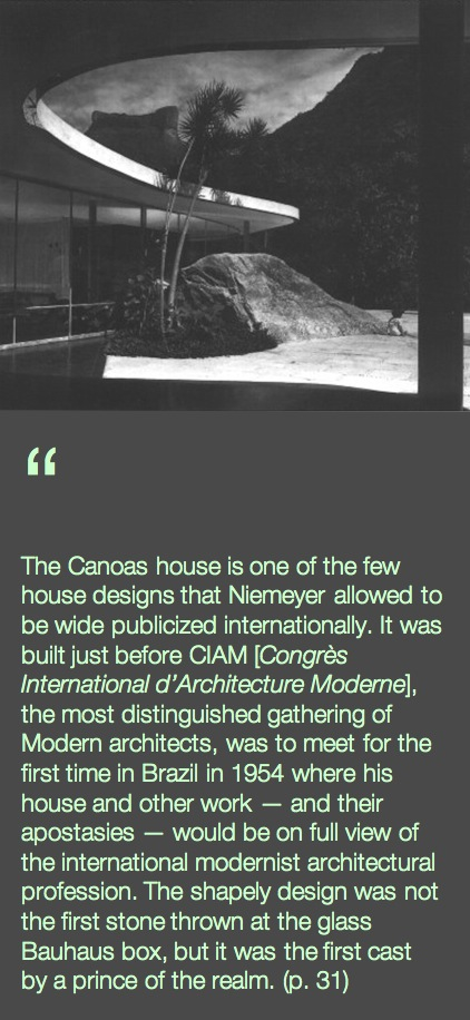 CASA DAS CANOAS QUOTE by HESS