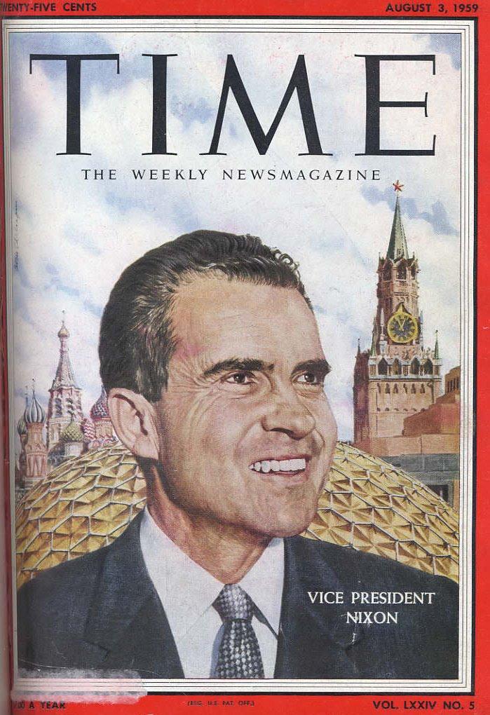 Россия, какой я ее увидел. Ричард Никсон - часть V, окончание