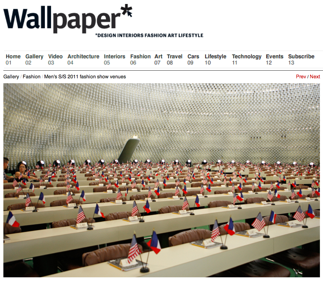 Wallpaper Mens Fashion Show Venues