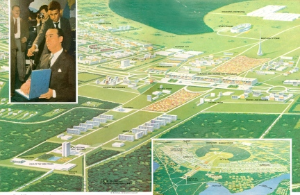 Brasilia - National Geographic May 1960 - 2
