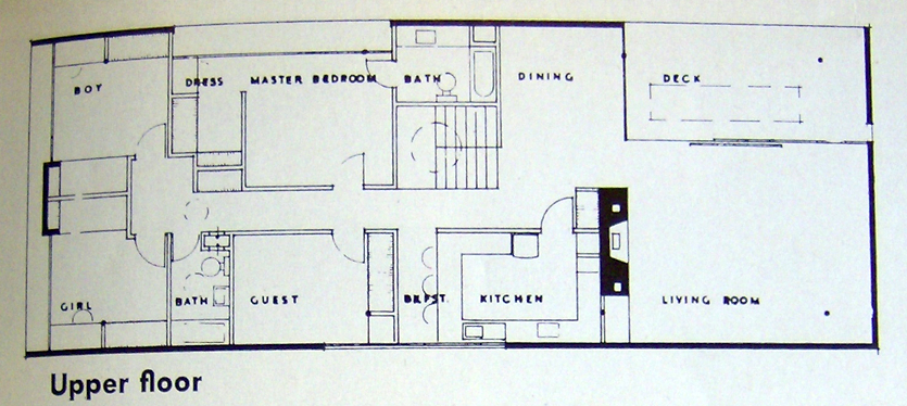 GARDNER HOUSE PLOOR PLAN UPPER designKULTUR