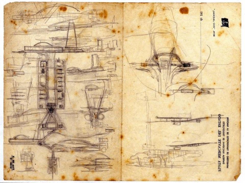 Artesanato Verefazer ~ Esboço do Plano Piloto de Brasília feito por Lucio Costa