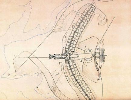 Plano piloto de Brasília, de autoria de Lucio Costa