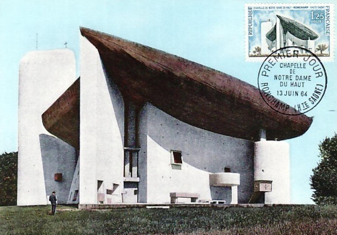 Ronchamp 1 designkultur for Architecture le corbusier