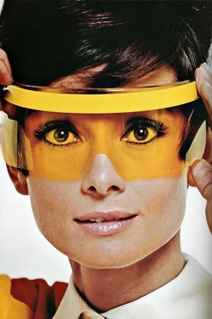 Space Age Audrey Hepburn 1967