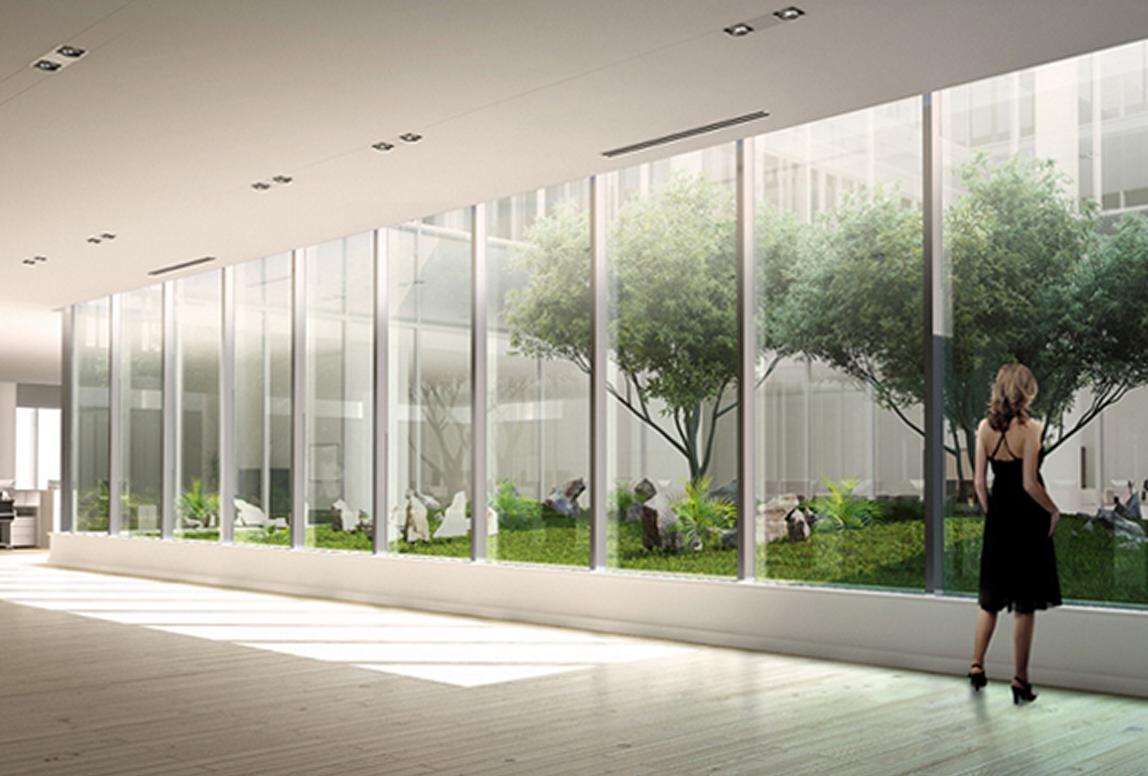 Office Atrium View   designKULTUR