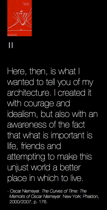 Oscar Niemeyer quote