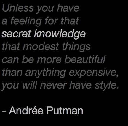 André Putman Quote