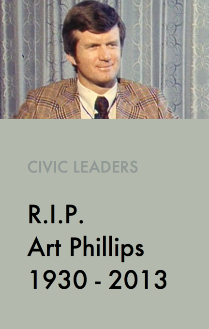 Art Phillips 1930 - 2013