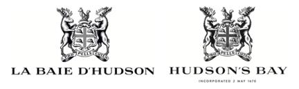 designKULTUR - Logos - La Baie d'Hudson : Hudson's Bay