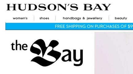 designKULTUR - Logos - The Bay + Hudson's Bay