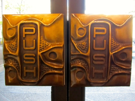 designKULTUR - Sculptor Unknown - Eaton's Vancouver Door Handle