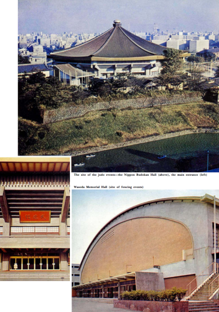 FACILITIES - Tokyo 1964 Olympics - Offical Report - 65