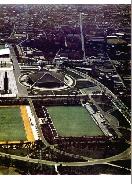FACILITIES - Tokyo 1964 Olympics - Offical Report - 66
