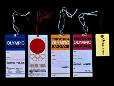 GRAPHICS - Tokyo 1964 Olympics - Offical Report - 10