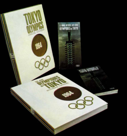 GRAPHICS - Tokyo 1964 Olympics - Offical Report - 25