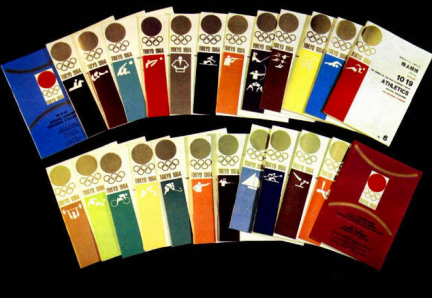 GRAPHICS - Tokyo 1964 Olympics - Offical Report - 64