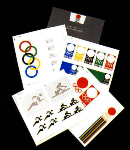 GRAPHICS - Tokyo 1964 Olympics - Offical Report - 8