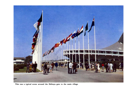 KENZO TANGE - Tokyo 1964 Olympics - Offical Report - 40
