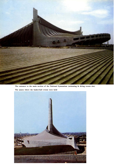 KENZO TANGE - Tokyo 1964 Olympics - Offical Report - 74