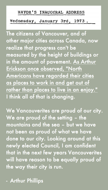 North Americans have regarded their cities as places to work in and get out of rather than places to live in an enjoy