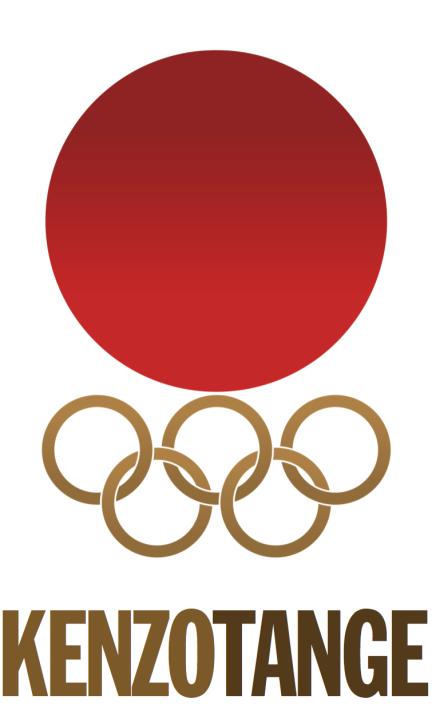 TOKYO 1964 - KENZO TANGE