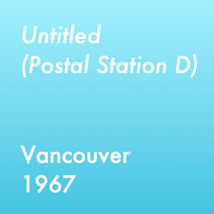 Untitled - Postal Station D