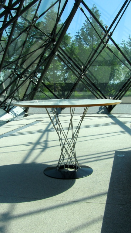 designKULTUR - Isamu Noguchi - Moerenuma Park Sapporo - Glass Pyramid %22Hidimari%22 – 27