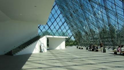 designKULTUR - Isamu Noguchi - Moerenuma Park Sapporo - Glass Pyramid %22Hidimari%22 – 35