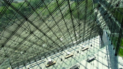 designKULTUR - Isamu Noguchi - Moerenuma Park Sapporo - Glass Pyramid %22Hidimari%22 – 40