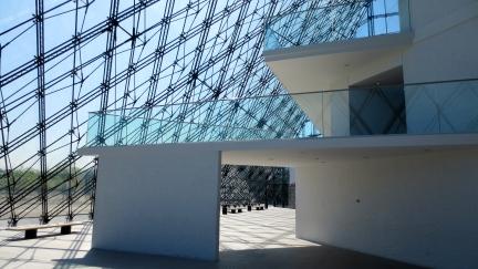 designKULTUR - Isamu Noguchi - Moerenuma Park Sapporo - Glass Pyramid %22Hidimari%22 – 5
