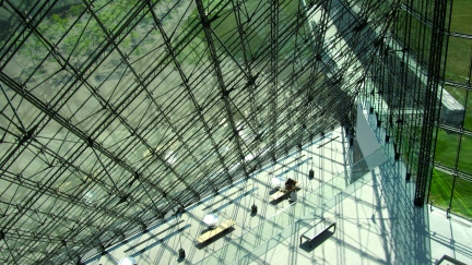 designKULTUR - Isamu Noguchi - Moerenuma Park Sapporo - Glass Pyramid %22Hidimari%22 – 50