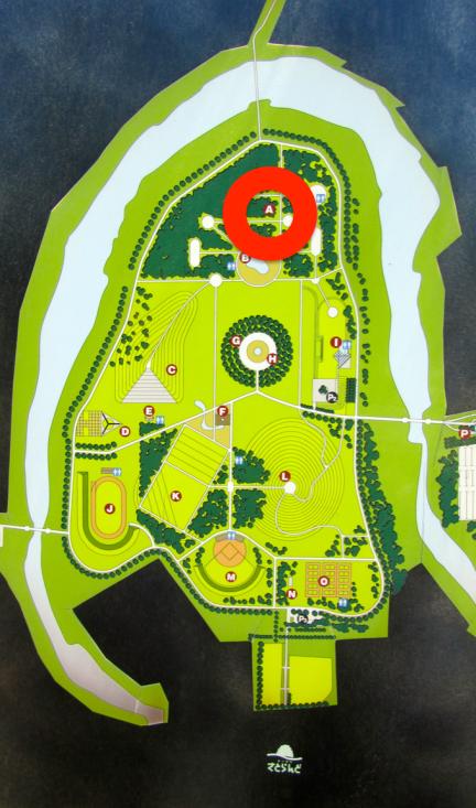 designKULTUR - Isamu Noguchi - Moerenuma Park Sapporo - Map  - Forest of Cherry Trees