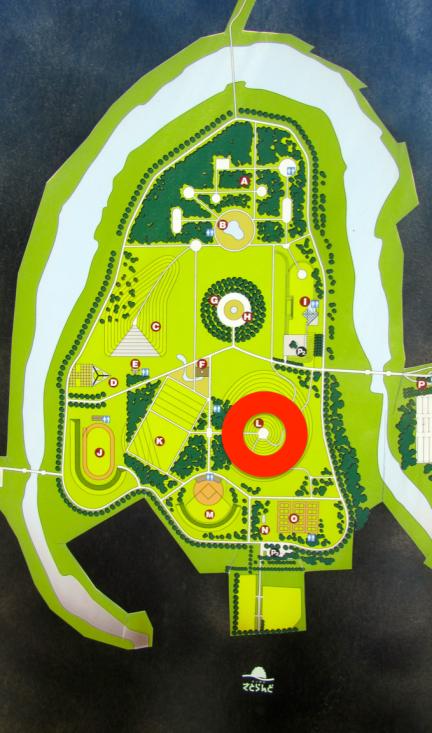designKULTUR - Isamu Noguchi - Moerenuma Park Sapporo - Map  - Mt. Moere