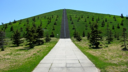 designKULTUR - Isamu Noguchi - Moerenuma Park Sapporo - Mt. Moere - 10