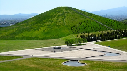 designKULTUR - Isamu Noguchi - Moerenuma Park Sapporo - Mt. Moere - 15