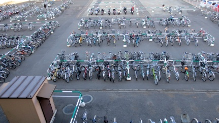 designKULTUR - Sapporo 2013 - Bicycle Lot